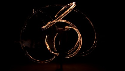 Long Exposure: Fire Poi | maxmorgan.com