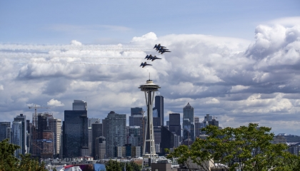 Blue Angels over Seattle 2018 | maxmorgan.com